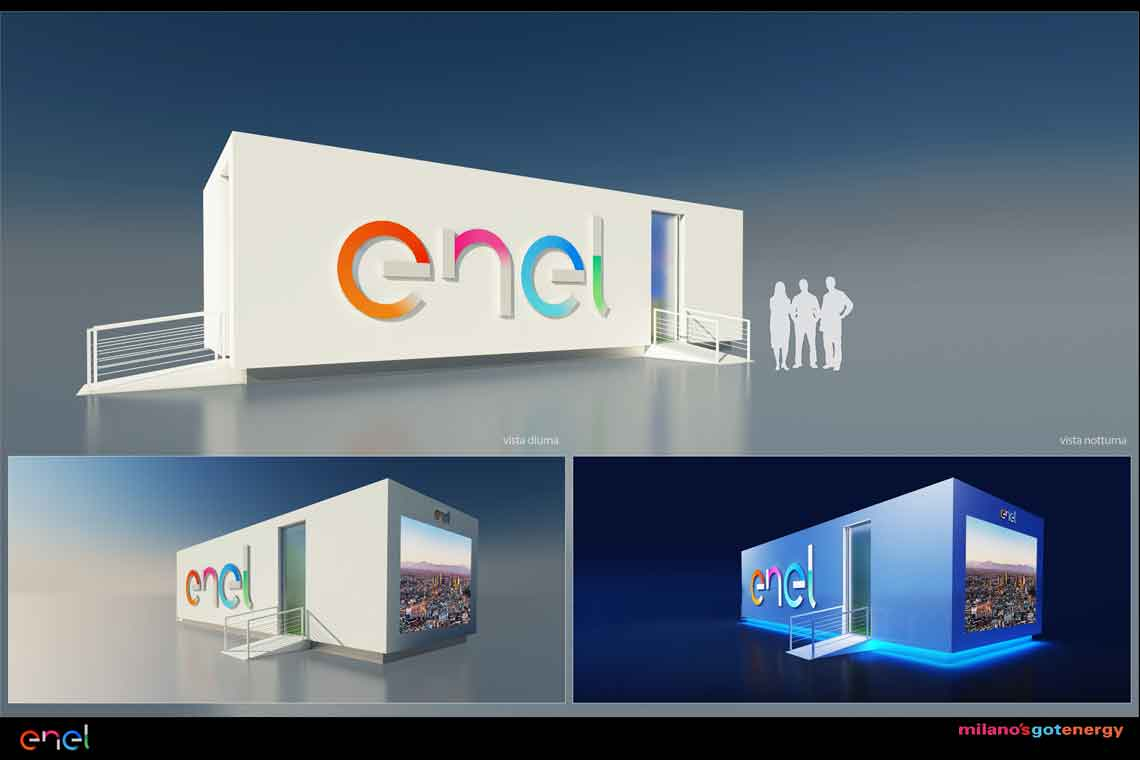Enel Got Energy Temporary Structure