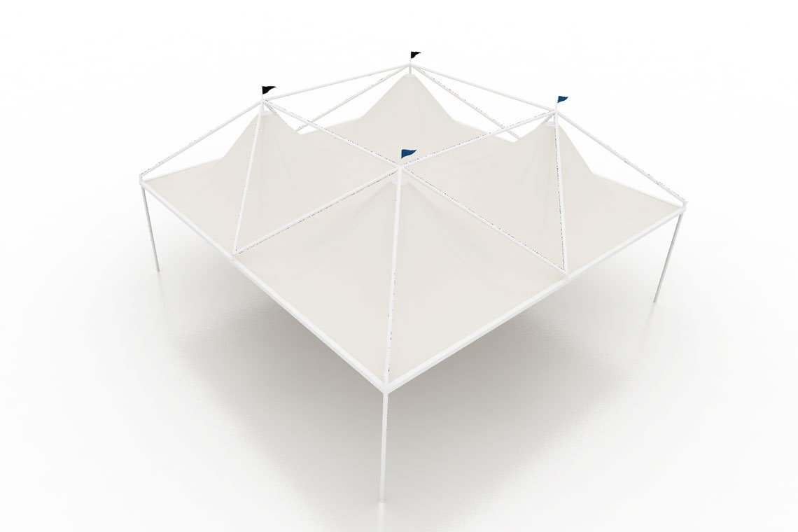 marquee 10x10 3d model