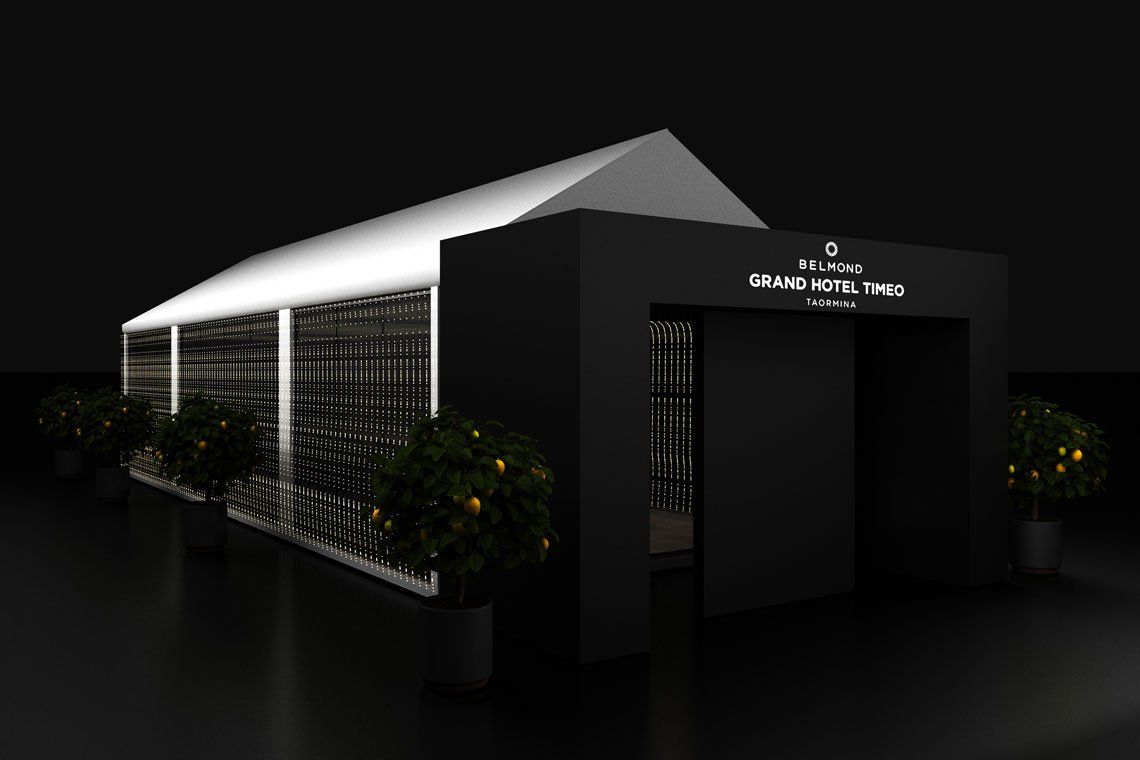 timeo outdoor temporary structure 3d model